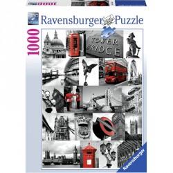 Puzzle 1000 db - London Ravensburger Puzzle Ravensburger
