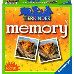 Memóriajáték - Állatkölykök Memória játékok