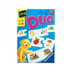 Társasjáték - Logo Duo párkereső Szórakoztató játékok Ravensburger
