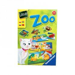 Társasjáték - Logo Zoo: állatok és kölykeik Szórakoztató játékok Ravensburger
