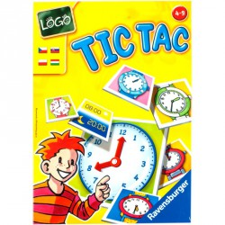 Társasjáték - Tik tak: Hány óra van? Szórakoztató játékok Ravensburger