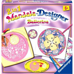 Mandala 2in1 - balerina Színező Ravensburger