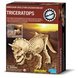 Régészjáték dobozban - Triceratopsz Dobozok, ládák