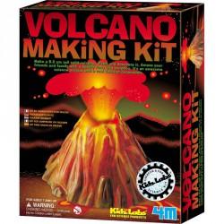 Vulkán készítő szett Tudományos, szórakoztató játékok