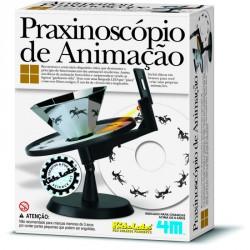 Animációs praxinoszkóp Tudományos, szórakoztató játékok