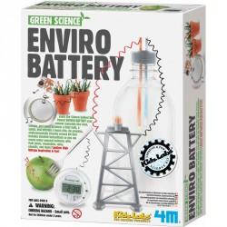 Környezetbarát elemkészítő szett Tudományos, szórakoztató játékok