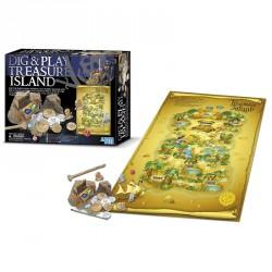 Régészeti játék - Kincses sziget Tudományos, szórakoztató játékok