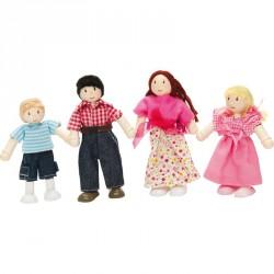 4 db-os fa baba család Egyéb játékok