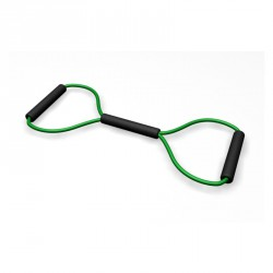 Body-Toner nyolcas alakú gumikötél közep es (zöld) Sportszer R-Med