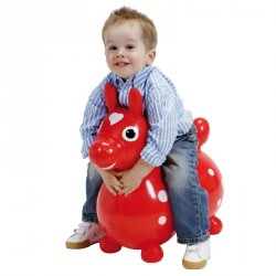 Cavallo Rody lovacska piros Játék Gymnic