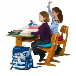 Dynair ék alakú ülőpárna Kid 30x30 cm kék Sportszer Togu