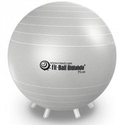 Fit-Ball Ülőlabda lábakkal 75 cm gyöngyház Sportszer Gymnic