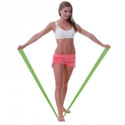 Fit-Band erősítő gumiszalag erős zöld 150 cm Sportszer