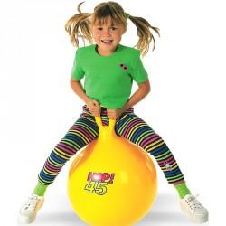 Ugrálólabda 45 cm sárga Sportszer Gymnic