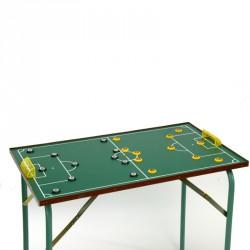Gombfoci asztal nyitható lábbal Gombfoci