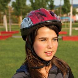 Kerékpáros sisak Amaya piros