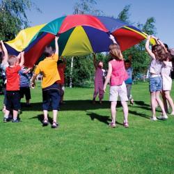 Óriás ejtőernyő Amaya 3,5 m 12 kapaszkodóval Sportszer Amaya