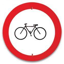 Kresz tábla - Kerékpárral behajtani tilos Játék Amaya