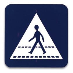 Kresz tábla - Gyalogátkelőhely Játék Amaya