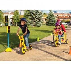 Tanuló taxi tricikli Játék Amaya