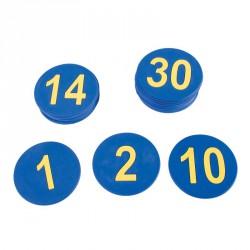 1-30-ig számos padlójelölő szett Sportszer Amaya