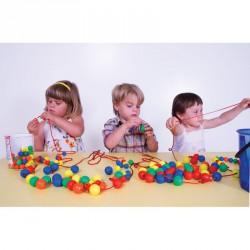 Összefűzhető 15 mm-es labdák Fejlesztő játékok Amaya