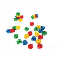 Összefűzhető kampósvégű kerekek Fejlesztő játékok Amaya