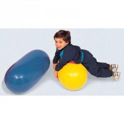 Henger alakú labda 75 cm sárga Sportszer Amaya