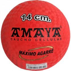 Rücskös gumilabda 14 cm Sportszer Amaya