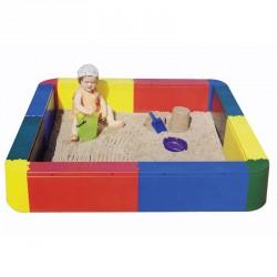 Négyzet alakú homokozó medence Sportszer Amaya