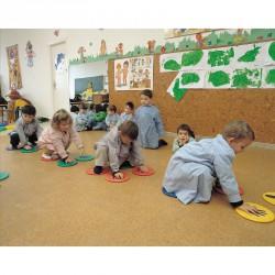 Hab kéz- és lábjáték készlet Fejlesztő játékok Amaya