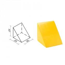 Lakkozott szivacs háromszög 25x25x25cm Sportszer Amaya