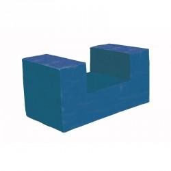 Lakkozott szivacs kocka alagút Sportszer Amaya