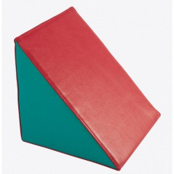 Lakkozott műbőr szivacs háromszög 25x25x25cm Sportszer Amaya