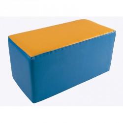 Lakkozott műbőr szivacs téglalap 25x25x50 cm Sportszer Amaya