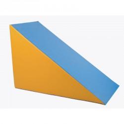 Lakkozott műbőr szivacs háromszög 60x80x120 cm Sportszer Amaya