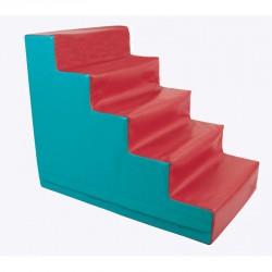 Lakkozott műbőr szivacs 5 fokos lépcső Sportszer Amaya