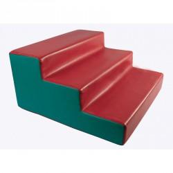 Lakkozott műbőr szivacs 3 fokos lépcső Sportszer Amaya
