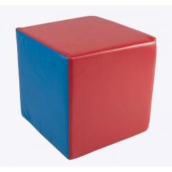 Lakkozott műbőr szivacs kocka 30 cm Sportszer Amaya