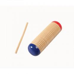 Guiro - Rovátkált fa hangszer Sportszer Amaya
