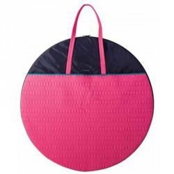 Gimnasztikai eszköztartó táska rózsaszín Sportszer Amaya