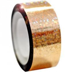 Dekorációs szalag tornakarikára csillám arany 11 m Sportszer Amaya