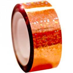 Dekorációs szalag tornakarikára csillám narancssárga 11 m Sportszer Amaya