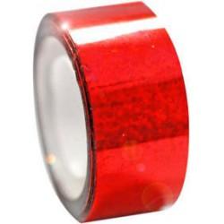 Dekorációs szalag tornakarikára csillám piros 11 m Sportszer Amaya