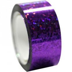 Dekorációs szalag tornakarikára csillám lila 11 m Sportszer Amaya