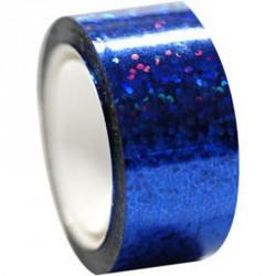 Dekorációs szalag tornakarikára csillám kék 11 m Sportszer Amaya