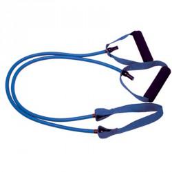 Erősítő gumikötél középső pánttal 1,2 m kék erős Sportszer Amaya