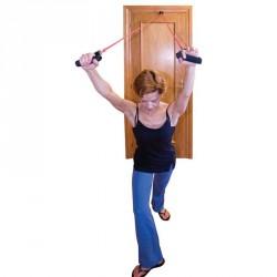 Fitnesz erősítő kötél ajtóra felszerelhető Sportszer Amaya