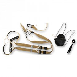 Bodyrope Tactical edzőheveder Sportszer Bodyrope
