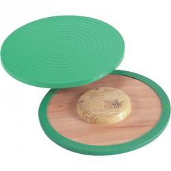 Egyensúlyozó deszka zöld Sportszer Gonge